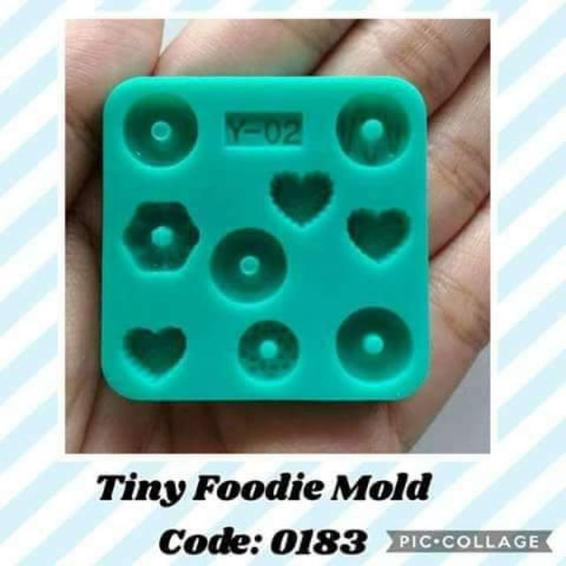 Tiny foodie silicone mold Y02