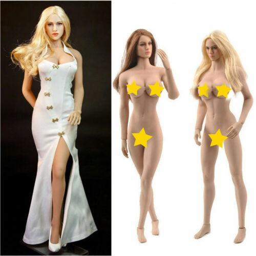 TBLeague PHMB2018-T01B T01A 1//12 Female Suntan Pale Seamless Body SHFiguarts