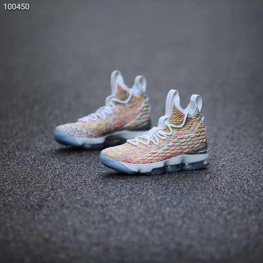 size 40 27b96 83b65 Nike LeBron 15 Mens Basketball shoes High top Fashion