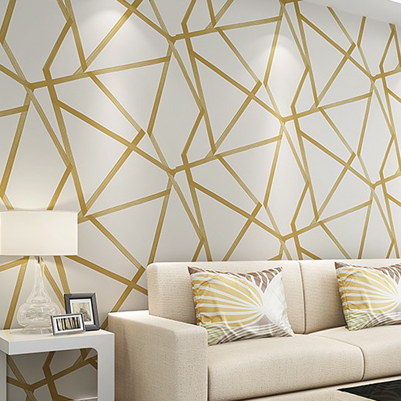 10 0 53m 3d Wallpaper Blue Beige Wall Paper Modern Design Stripes Triangles Pattern Bedroom Living Room Home Decor Shopee Philippines,Character Design Excited Poses Reference