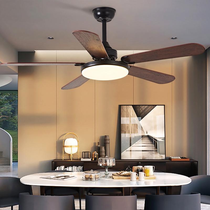 Nordic Ceiling Fan Light Restaurant