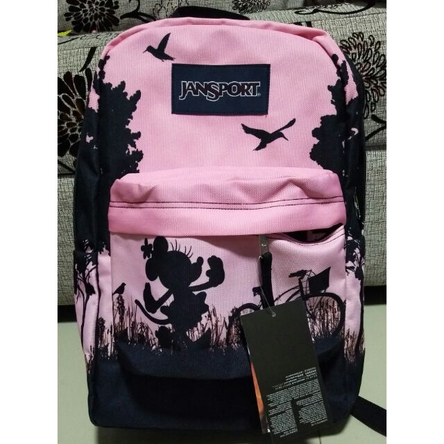 aba1e3eb81c ProductImage. ProductImage. COD FREE SF Mickey mouse pink backpack jansport  authentic