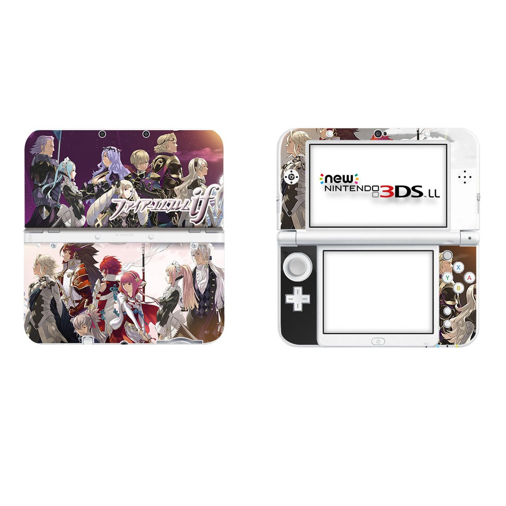 Persona5 Sticker Joker Skin Cover Protector Decals Stickers For New 3DSLL 3DS