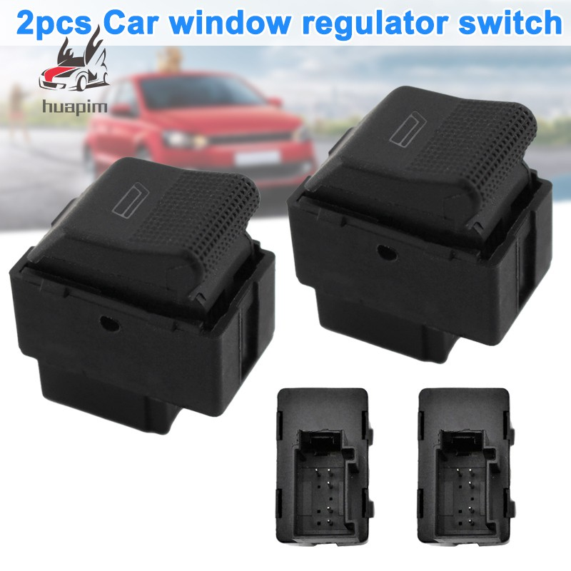 Aramox Power Window Switch Electric Power Master Window Control Switch Button Car Parts for A3 A4 A6 Q7 4F0959851A