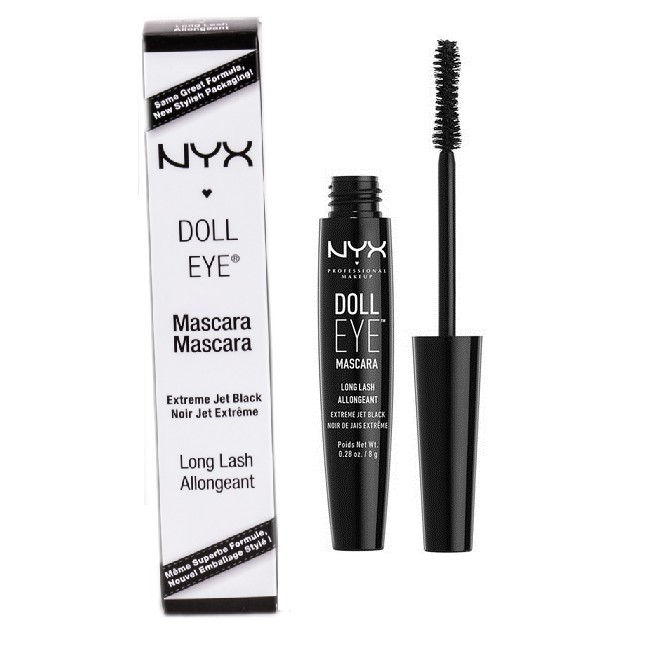 b440e9292c2 NYX Doll Eye Mascara DE01 Long Lash | Shopee Philippines
