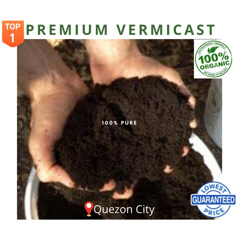 Premium Vermicast Organic Fertilizer