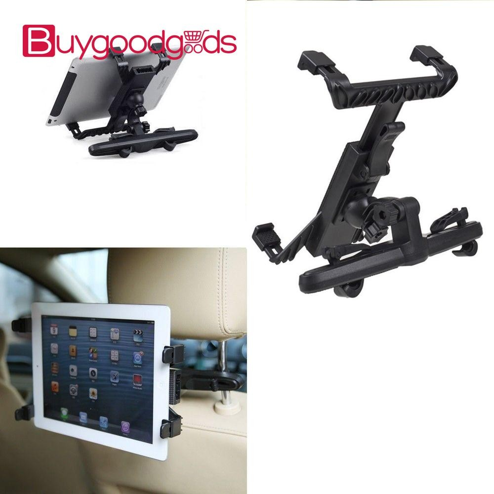 2 x Universal in Car Seat Tablet Headrest Holder  iPad /& Samsung Tab 7 to 11/""