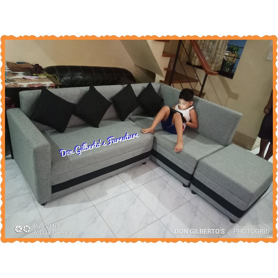 L Shape Type Sofa Elegant Design