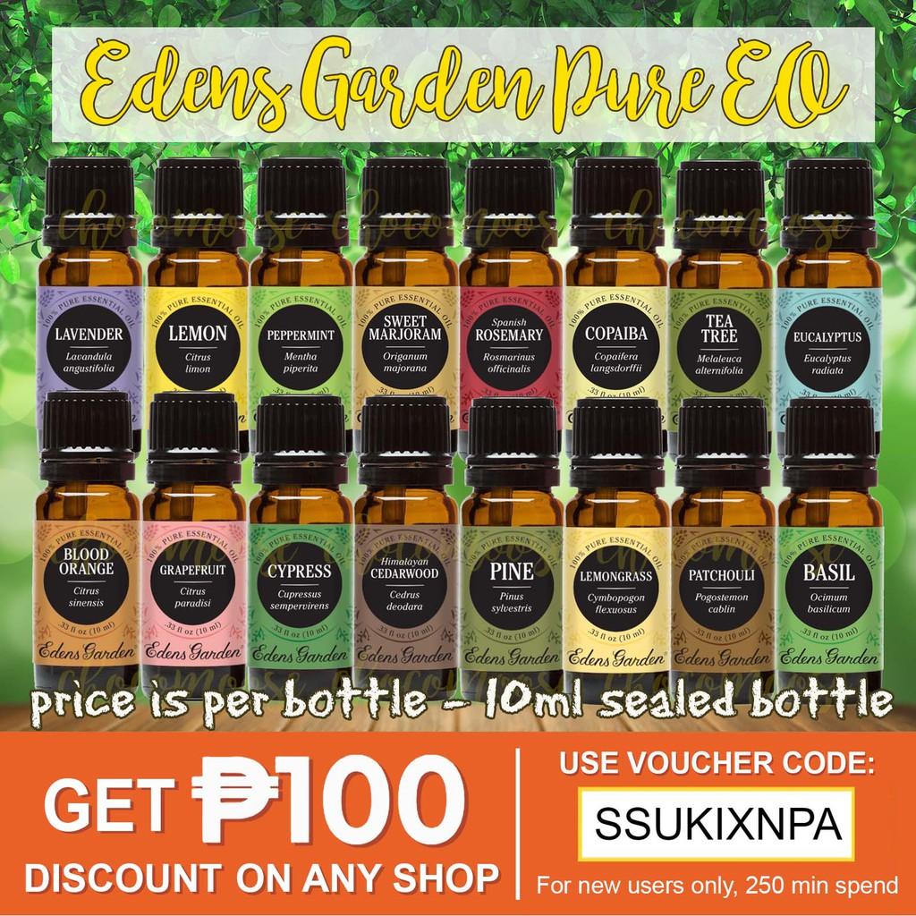 9d843a3afdeb Edens Garden Pure Essential Oil 10ml Sealed EG