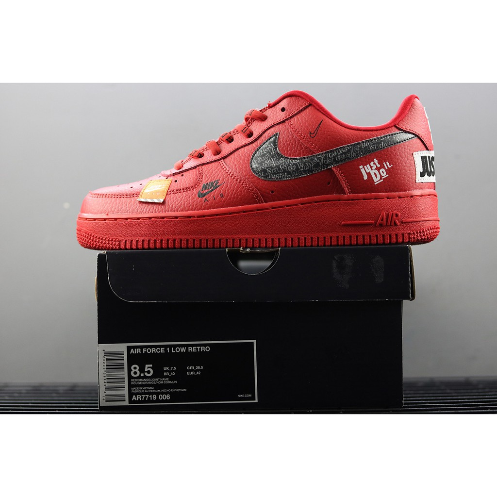 nike air force 1 low rouge