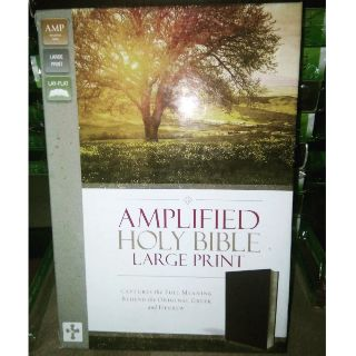 Amplified Large Print w zip | Shopee Philippines