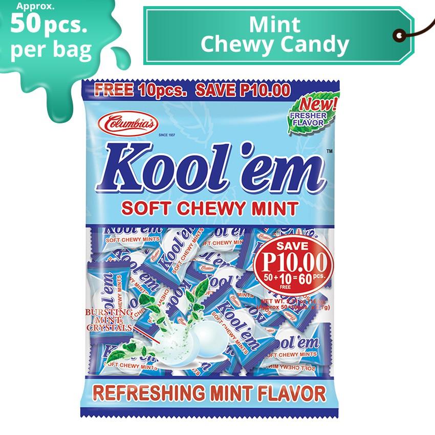 Kool'em Chewy Mint Candy