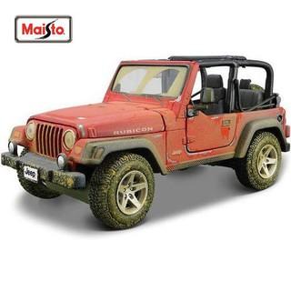 62e58c7b680 Maisto 1:24 Old Friends Jeep Wrangler Rubicon Model Car | Shopee ...
