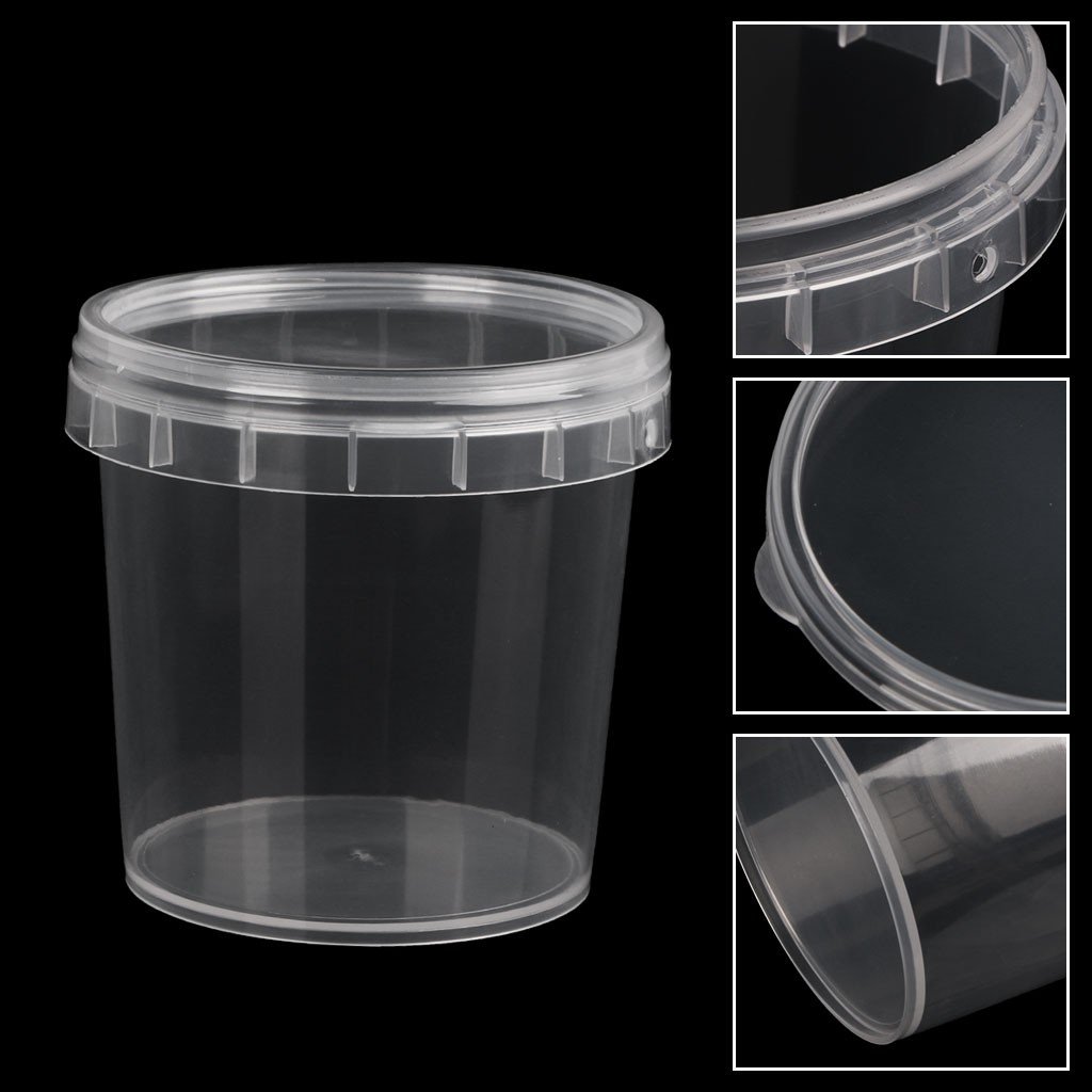 Provided 100ml Storage Container Organizer Box For Light Clay Playdough Foam Slime Mud Diy Store Balls Accessories Hot Sale Learning & Education Modeling Clay