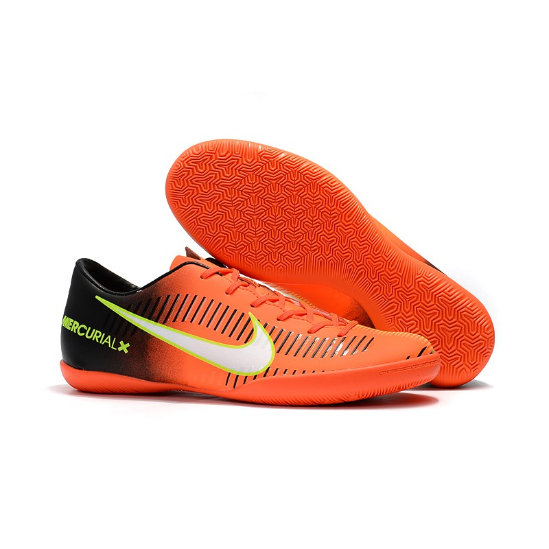 size 40 a8554 0325b H444GY Neymar orange Nike Mercurial Victory VI IC