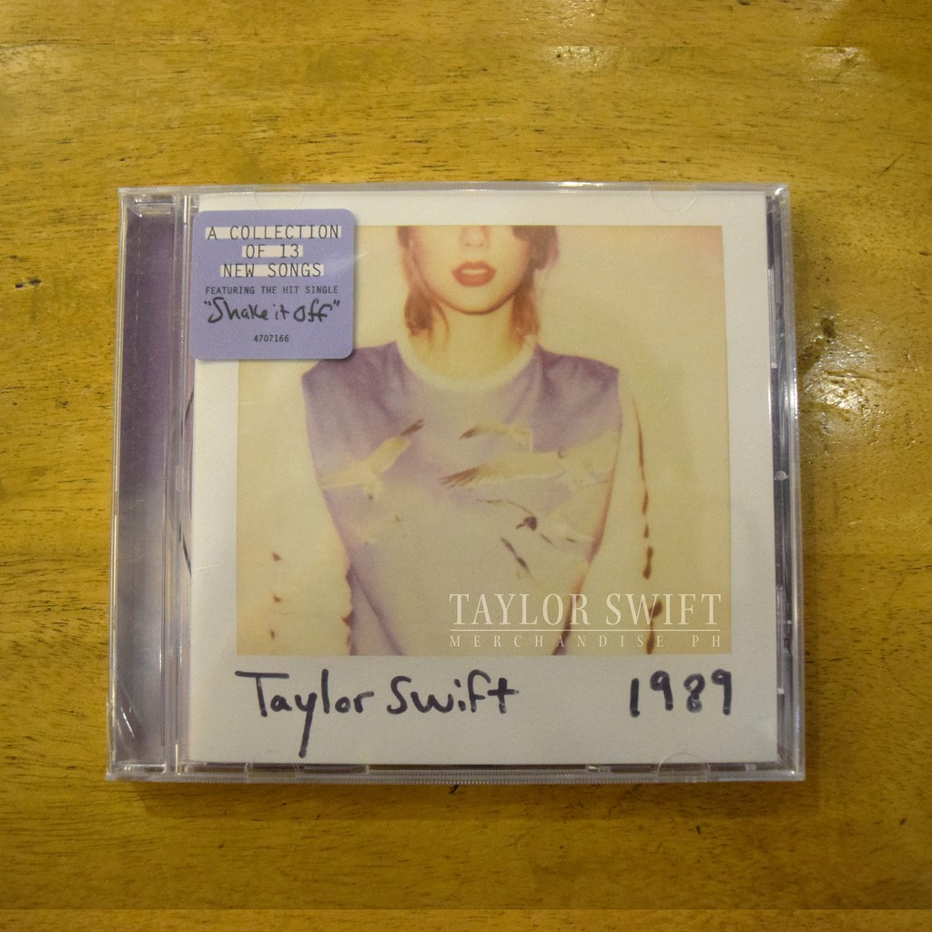 Taylor Swift 1989 Album Standard Edition Shopee Philippines