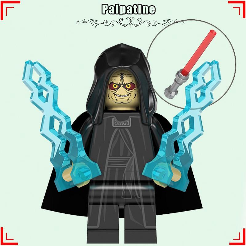 Emperor Palpatine Legoing Minifigures Star Wars The Rise Of Skywalker Darth Vader Yoda Building Blocks Starwars Toys Shopee Philippines