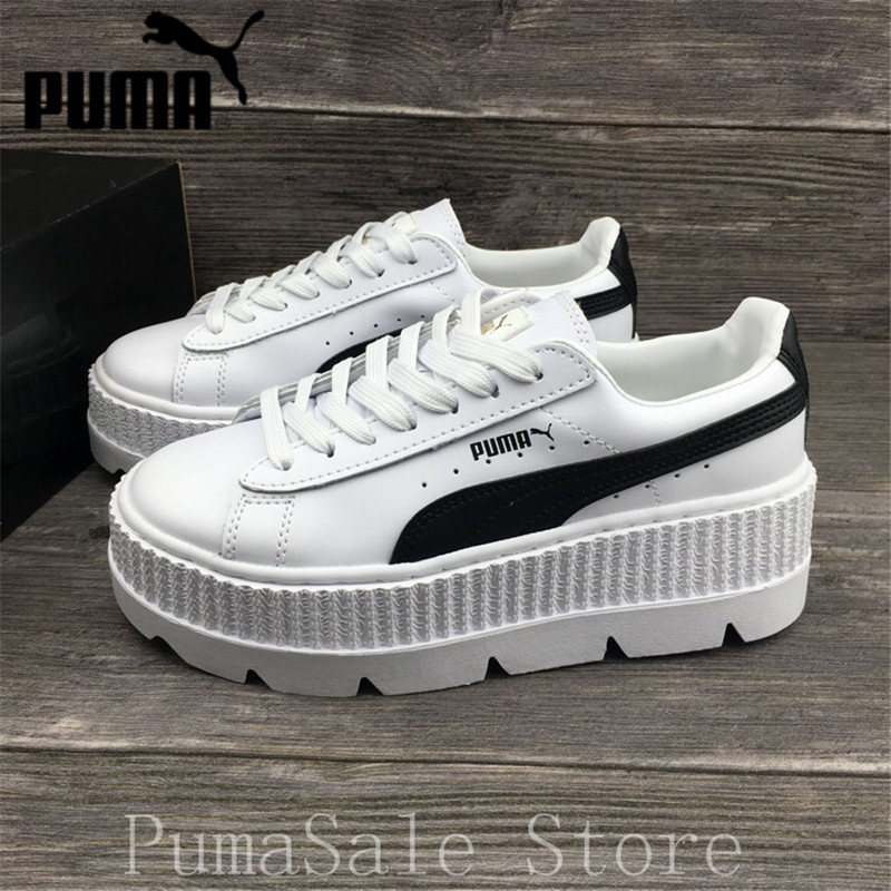 watch bdc28 f0ee4 PUMA FENTY Suede Cleated Creeper Wn's Badminton Shoes