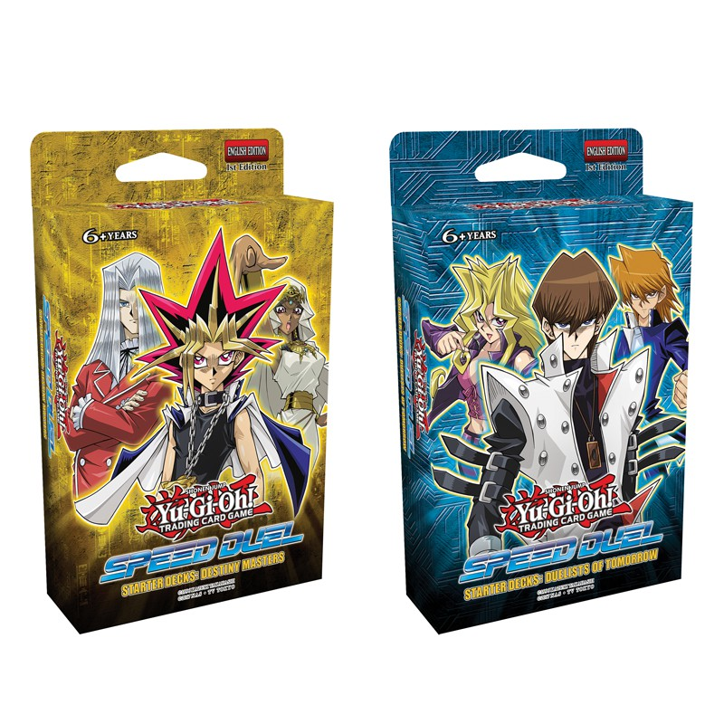 YuGiOh Speed Duel Weevil Deck Bundle 3 trials of the kingdom booster pack