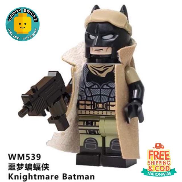 LEGO LIKE KNIGHTMARE BATMAN MINIFIGURE (ALT)