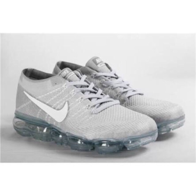 hot sale online c519f fe378 Nike Air Vapormax Flyknit (Light Grey) with Freebies