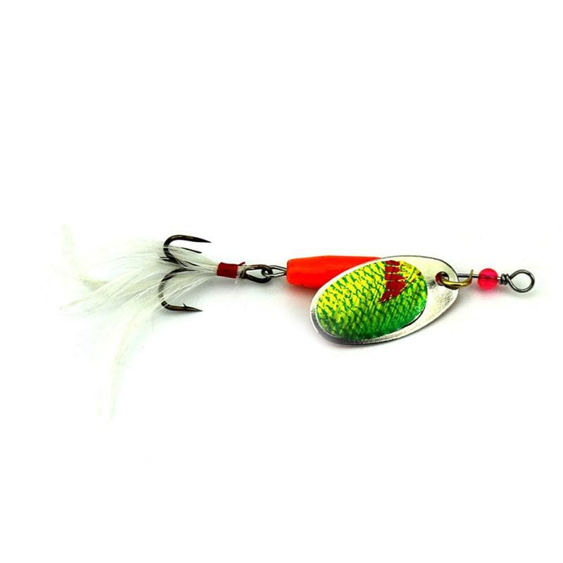 6pc Spoon Lures 7 71g Metal Bait 6 Color shrimp type Fishing Lure Hook