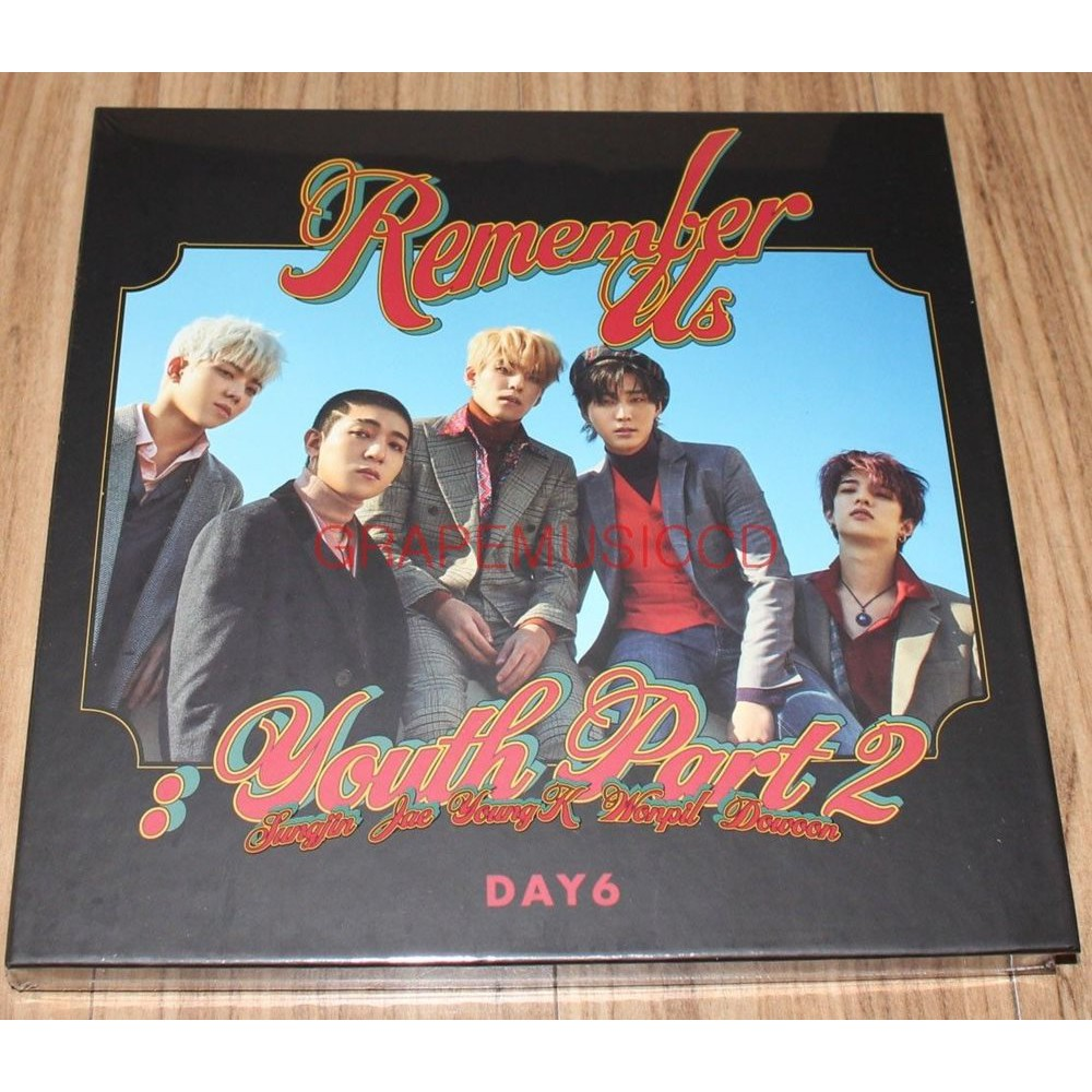 DAY6 4th Mini Album - Remember Us : Youth Part 2 Rewind Ver