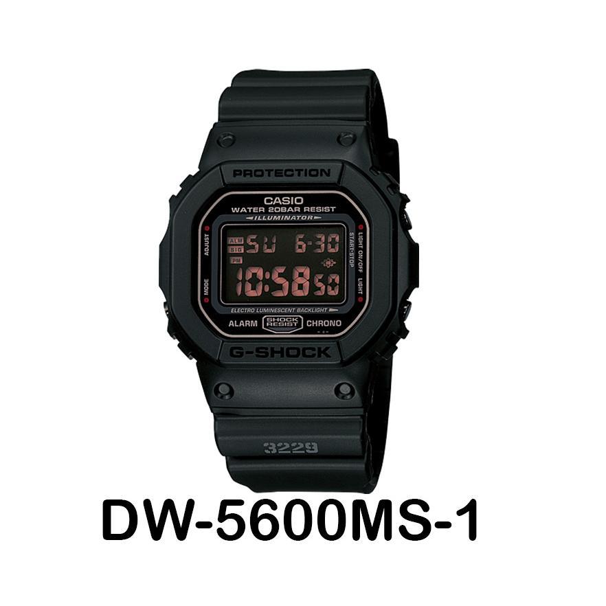 Original Casio G Shock DW-5600MS-1  3bc30c81cd