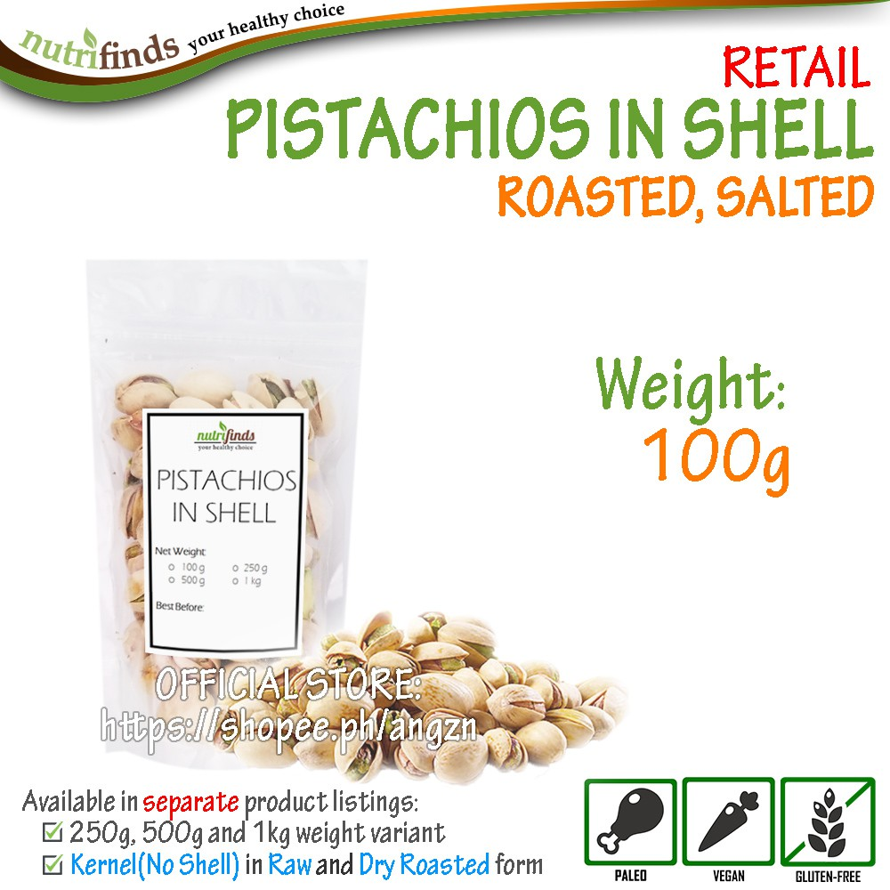 Pistachios in Shell - RETAIL