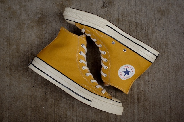 CLEARANCE SALE: Converse Chuck Taylor High CutTops Mustard