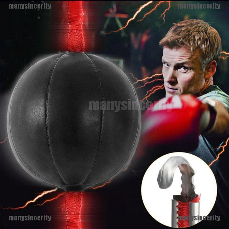 Durable Boxing Speed Ball Dodge Training Punching Bag Double End Punch Ball