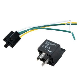 【Ready Stock】12V 12Volt 40A Auto Automotive Relay Socket 40 Amp on
