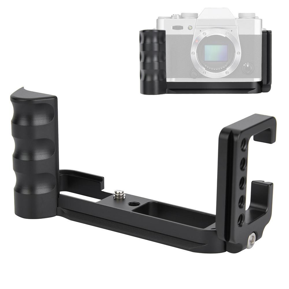 Light Mount Plate Adapter Aluminum Alloy Quick Release L-plate Bracket Hand Grip Holder for Fuji XT10 XT20 XT30 Camera