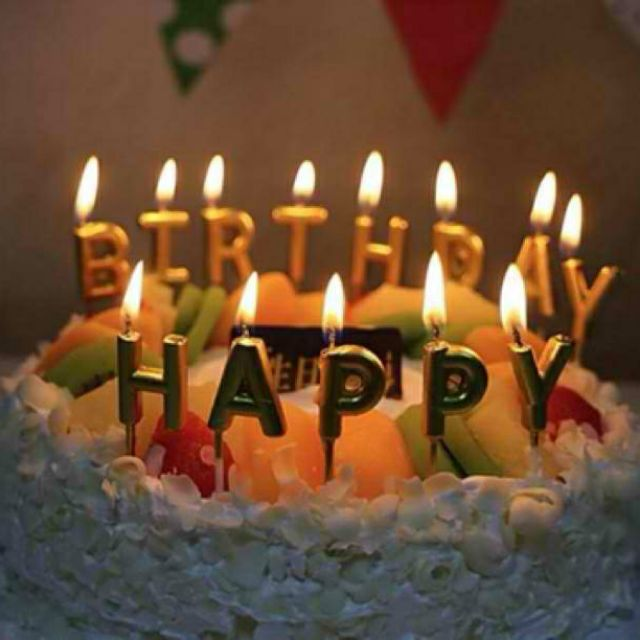 Strange Party Needs Happy Birthday Letter Candle Party Decorations Cake Funny Birthday Cards Online Elaedamsfinfo