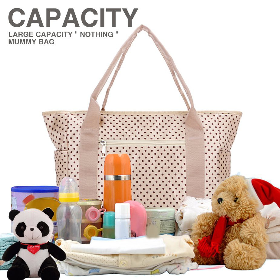 7fcd3407b9f0 TMR🎁 Mummy Shopping Bag Diaper Shoulder Baby Nappy Bags