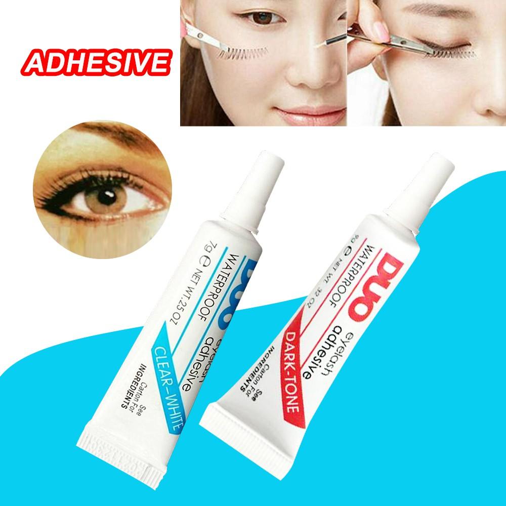 DUO Waterproof Clear White False Eyelashes Makeup Adhesive ...