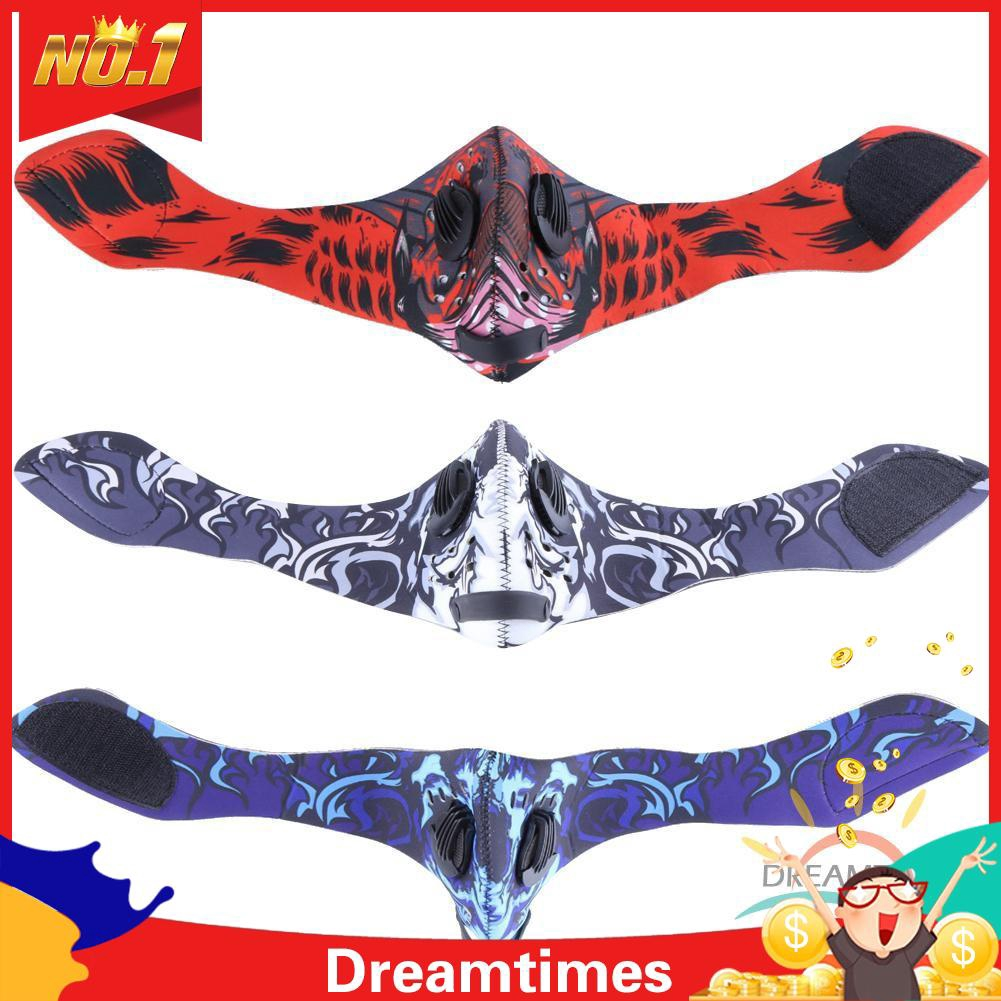 Cycling Bike Activated Carbon Half Face Mask Dustproof Anti-Pollution Dreamtimes.ph