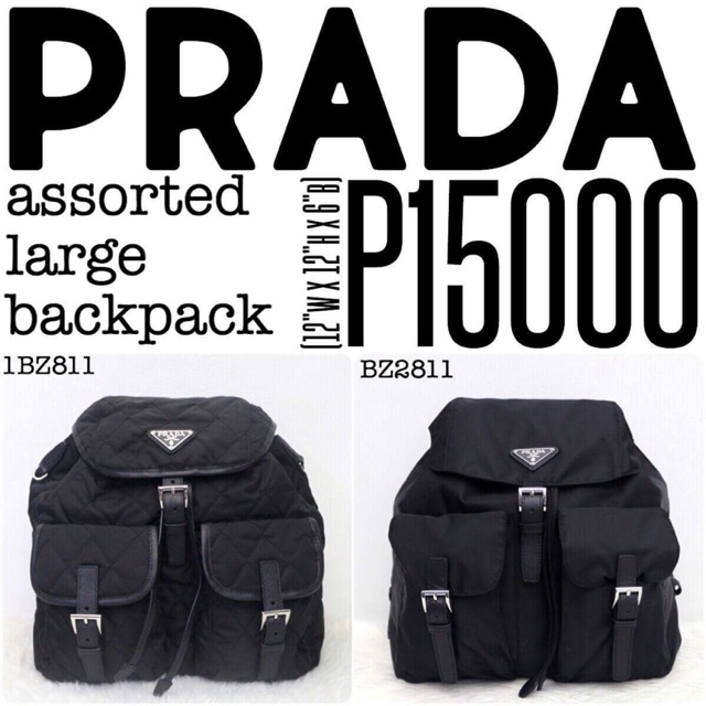 887d409501e7 PRADA ASSORTED GAUFRE | Shopee Philippines