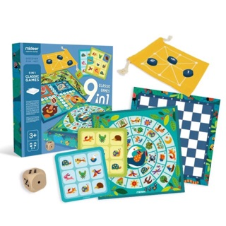 Mideer 9 in 1 Classic Board Game | Shopee Philippines