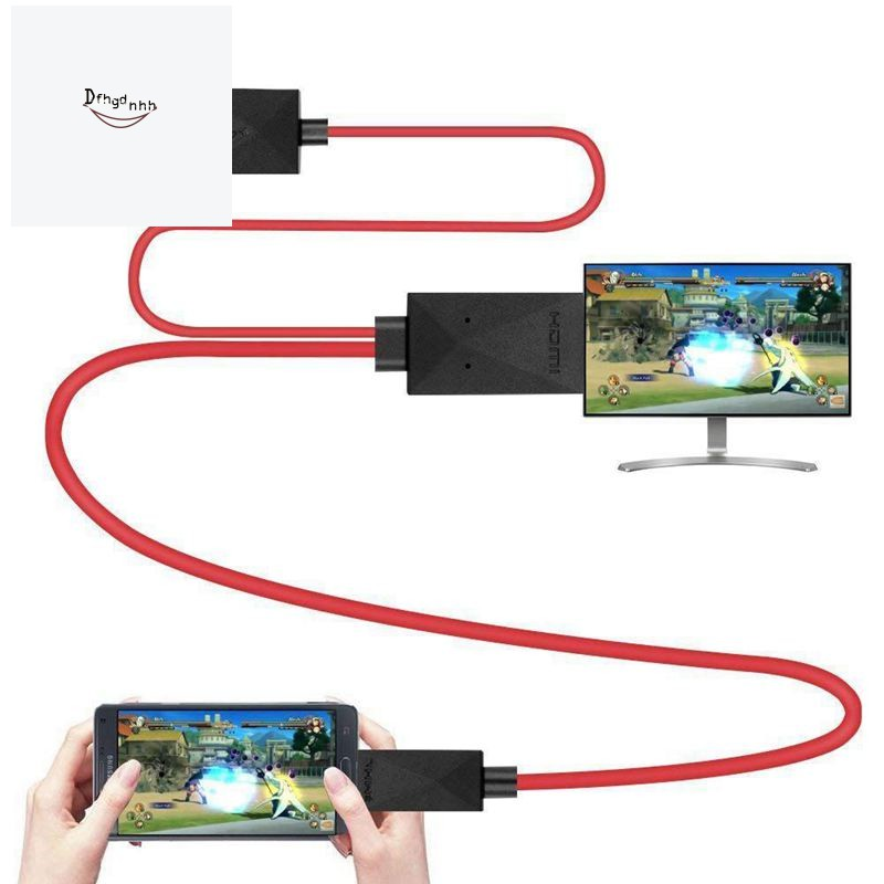 Lightning to HDMI 1080P Digital AV Adapter iPhone HDMI Cables Adapter 3 Feet Metal 3 in 1 Smartphone to HDMI//Micro USB//TYPE C Adapter for iPhone//iPad//S9//S8//Note 8 and More S7 HDMI Cable to TV