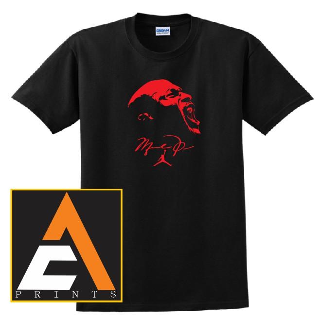 huge discount df24e dfd56 AC Prints NBA Michael Jordan Basketball Shirt