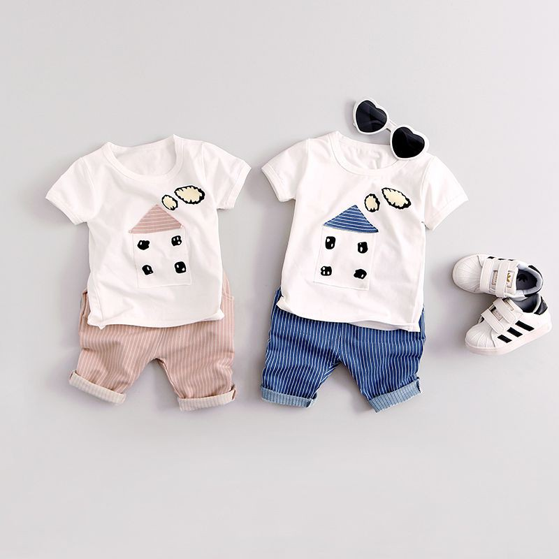 f046ad58f H.P-2PCS Cute Baby Boys Gentleman Outfit Clothes Romper