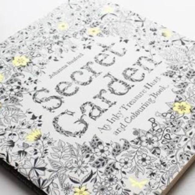 Secret Garden Coloring Book Shopee Philippines