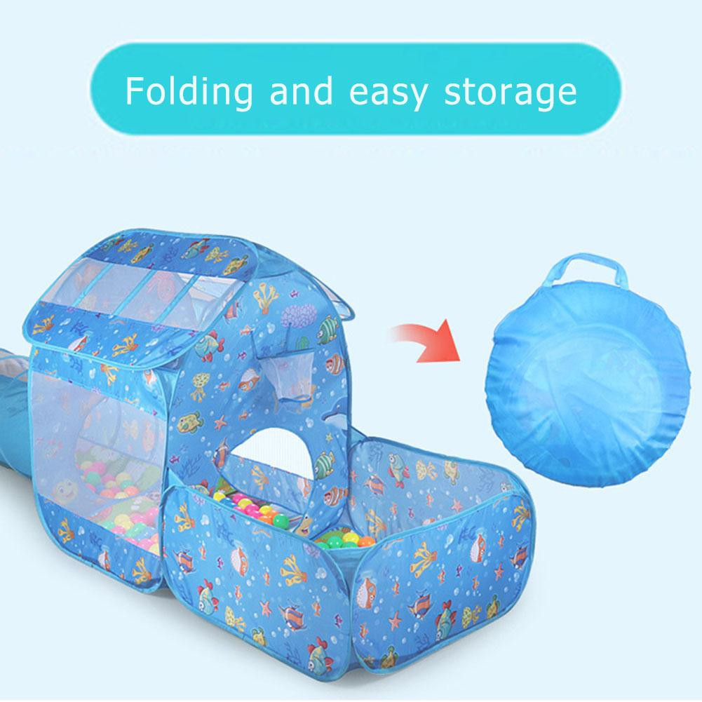 online store 9d2e3 53eaf Children Tent Ball Pool Playhouse Kids Inflatable Pool Folded Play Tents