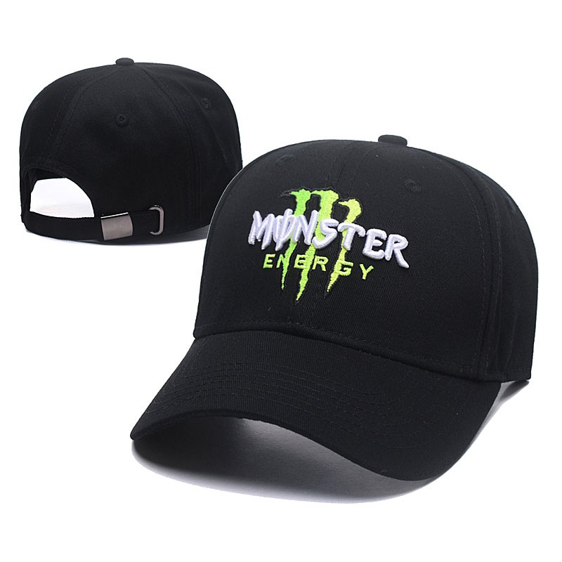149ef9db Monster Energy Men Racing Cap Hip Hop SnapBack Cap with adjustable strap