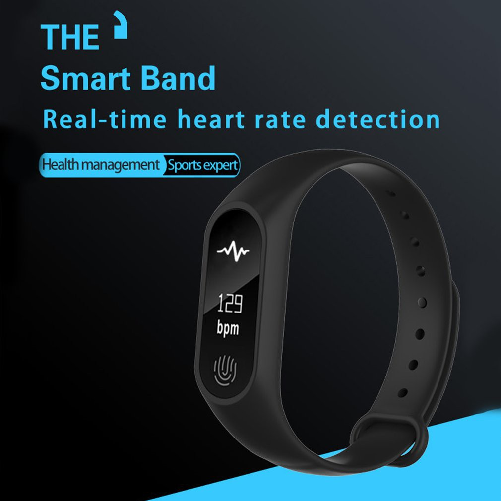 Band M2 Plus Waterproof Smart Bracelet For Android, IOS