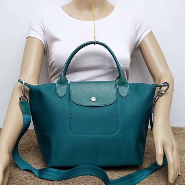 ec2bd02d40b0 SALE! AUTHENTIC LONGCHAMP NEO MEDIUM BLUEGREEN