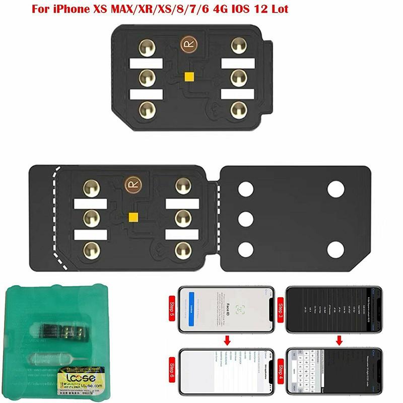 iPhone XS MAX/7/6 4G iOS R-SIM 14 2019 RSIM Nano Unlock Card