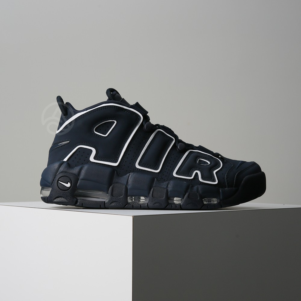 94ad9d0f1b Nike Air More Uptempo `96 obsidian dark blue 921948-400 | Shopee Philippines