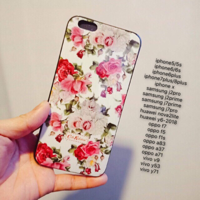 hot sale online 311ce 0c1e5 cath kidston imd case for oppo vivo huawei samsung iphone